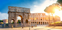 Panorama Of The Arch Of Consta...