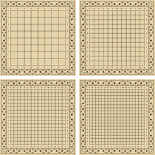 Goban (board For Playing Go Ga...