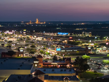 Aerial Twilight Photo San Marcos Premium Outlets