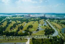 Aerial Image Lake Charles Louisiana