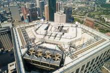 Aerial Drone Rooftop Hvac Insp...