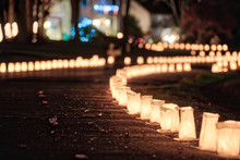 Christmas Eve Candle Lights, L...