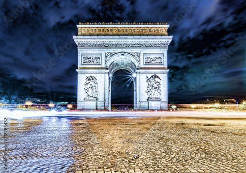 Valokuvatapetti Arc de Triomphe