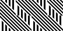 Seamless Pattern With Striped ...
