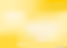 Blurred Yellow Vector Abstract Background