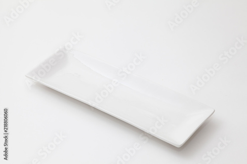 Photo  白い長方形の皿