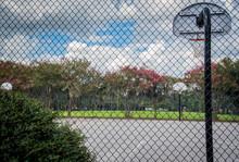 Outdoor Basketball Court Throu...