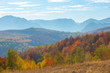 Autumn landscape in Romania
