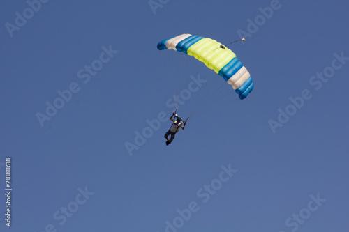 Foto op Canvas Luchtsport parachute jump