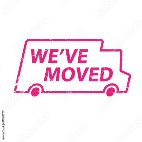 Fotografía  We've moved announcement