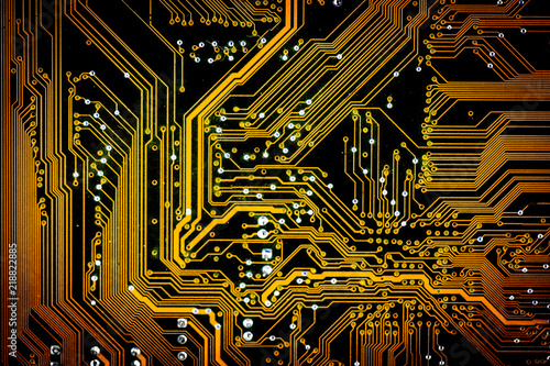Electronic Circuit Boards Computer Motherboardtexture And