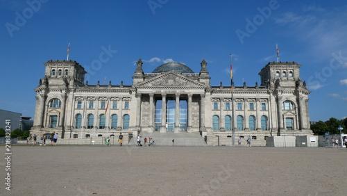 In de dag Berlijn Reichstag