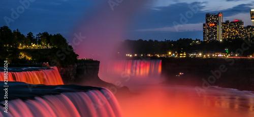 Światła Niagara Falls