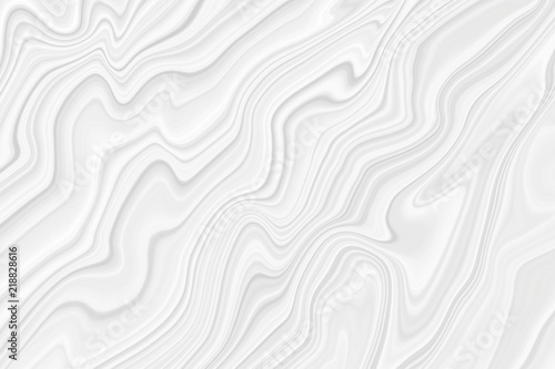 Fototapety, obrazy: Drawing of a wave of white and gray color. Background with stains and curved lines.