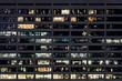 Leinwanddruck Bild - New York by Night
