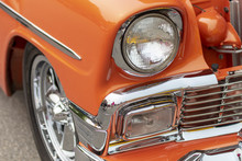 The Front End Of An Old Classi...
