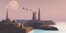 Astral Sector Planet - Shuttle...