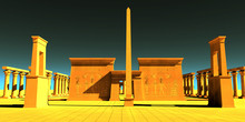 Egyptian Pharaonic Temple - A ...