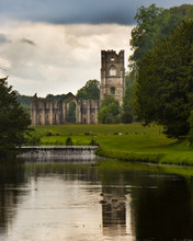 Fountains Abbey Vertical Image...