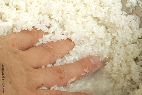 Photo  Sushi Rice making of