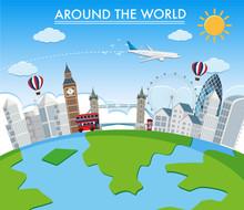 Around The World Landmark