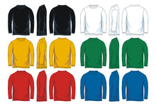 Colorful Long Sleeve T-shirt I...