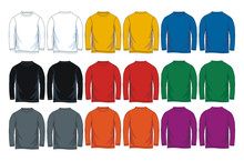 Colorful Long Sleeve T-shirt T...
