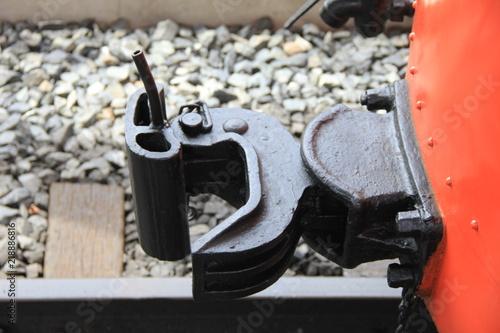 Fotografie, Obraz  電車の連結器部分