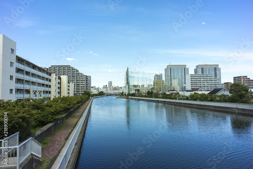 Garden Poster Napels 運河のある風景 江東区 東京都