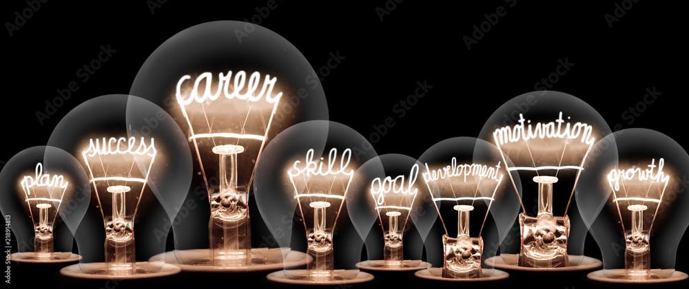 Fototapety, obrazy: Light Bulb Concept