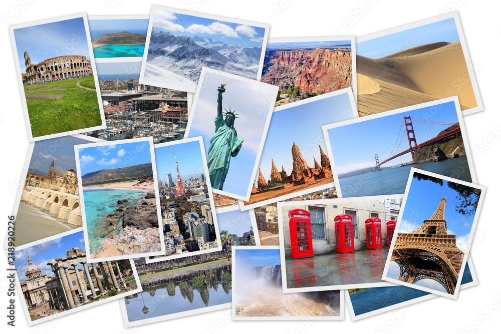 Fototapeta Around the world