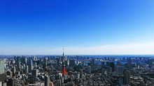 Tokyo Tower And Tokyo Landscape