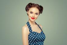 Pinup Woman Beauty Portrait Vi...