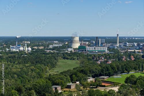 Fotografie, Obraz  Aussicht vom Glockenturm des Olympiastadions