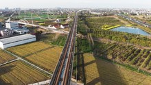Aerial Of Chinese Countryside ...