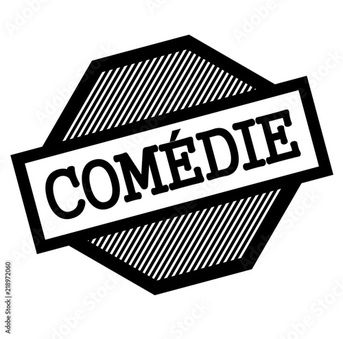 Photo  comedy black stamp