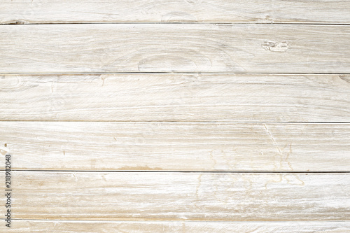 Poster Bois White wooden board background