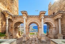 Hadrian's Gate - Entrance To Antalya, Turkey