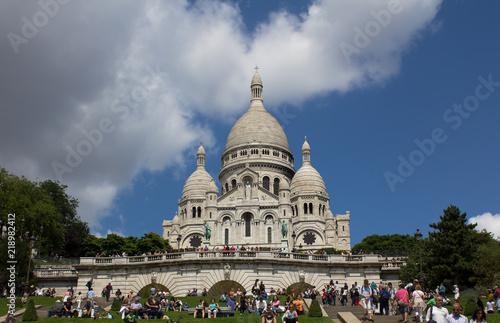 Fotografie, Obraz  Basilica of Sacre-Coeur
