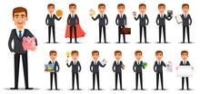 Handsome Banker In Business Suit