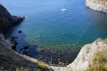 Bay Of Sorgeto In Ischia In It...