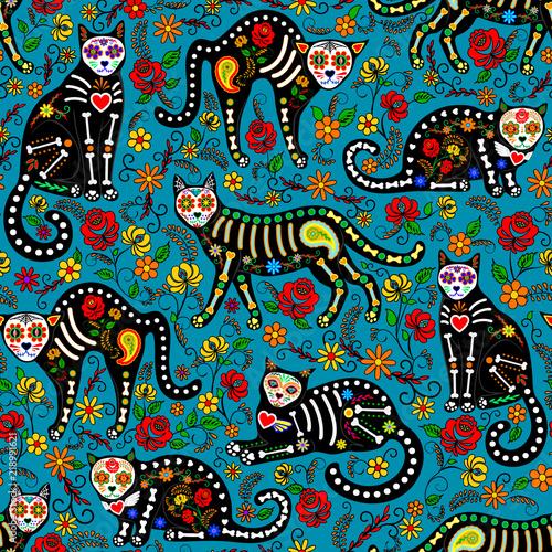 Obrazy dla dzieci meksykanskie-kotki
