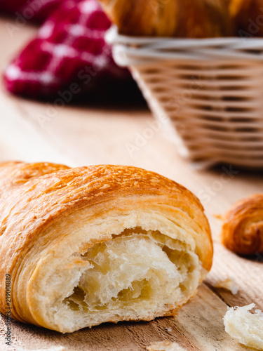Photo Stands Coffee beans Country Croissant Breakfast