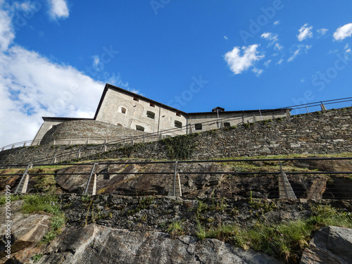 Papiers peints Con. Antique Fort Bard, Aosta Valley - Italy