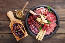 Antipasto Platter Cold Meat Wi...