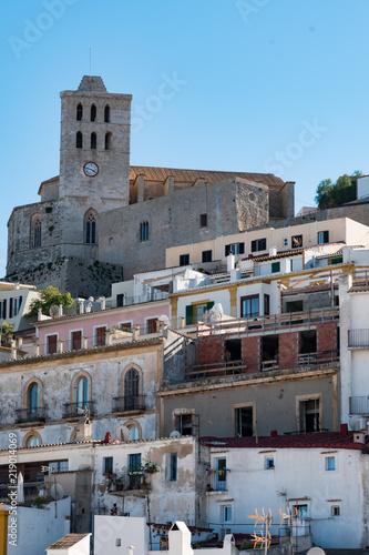 Fotografie, Obraz  Lovely Typical buildings in Ibiza