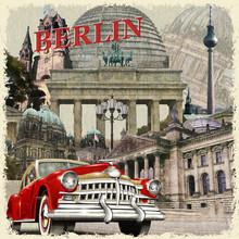 Berlin Vintage Poster.
