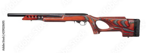 Fotografia Red semi auto rimfire rifle