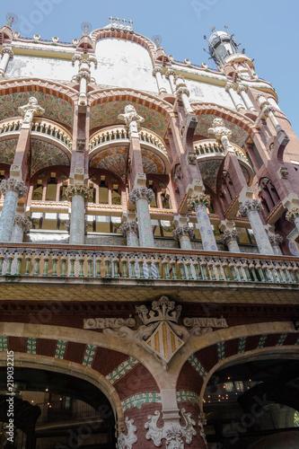 Spoed Foto op Canvas Theater palau de la musica