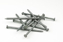 A Small Pile Of Galvanized, Zi...